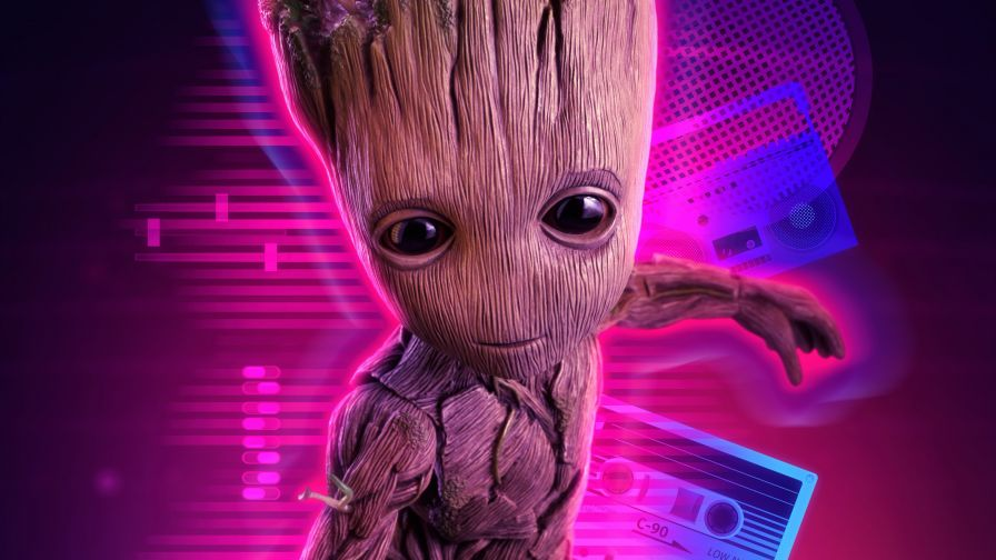 4k Baby Groot The Hot Desktop Wallpapers And Backgrounds