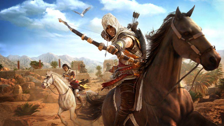Assassins Creed Origins 4K 8K Game
