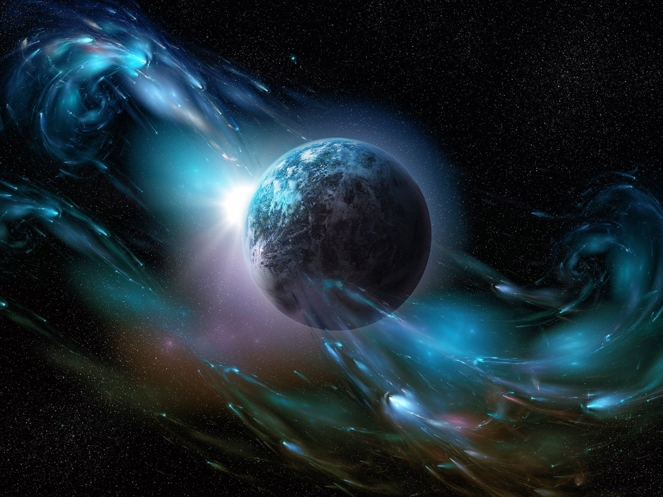 Awesome Space HD Wallpaper iPad Pro