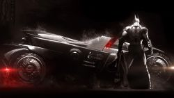 Batmobile Batman Arkham Knight Artwork