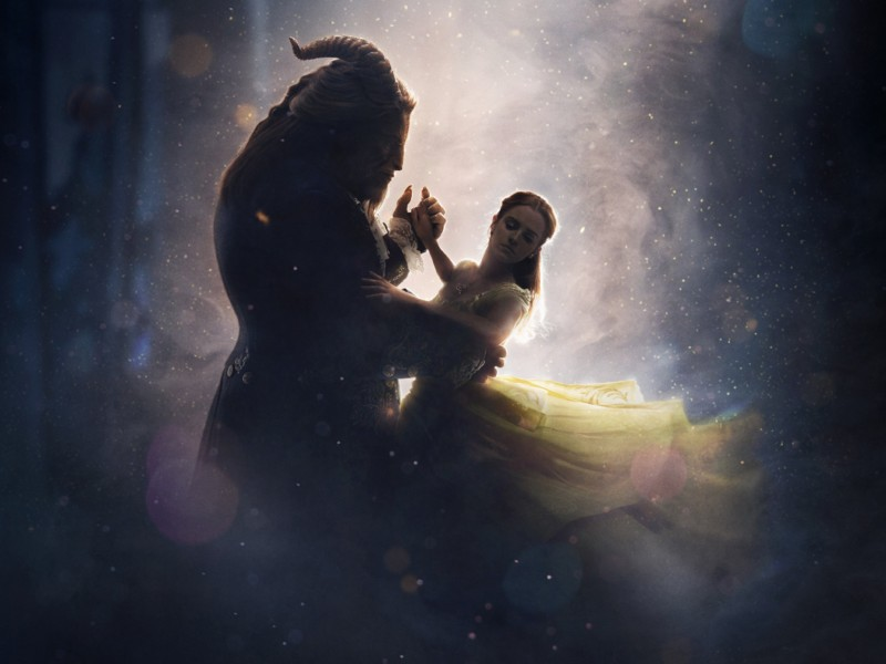 Beauty and the Beast 4K Wallpaper
