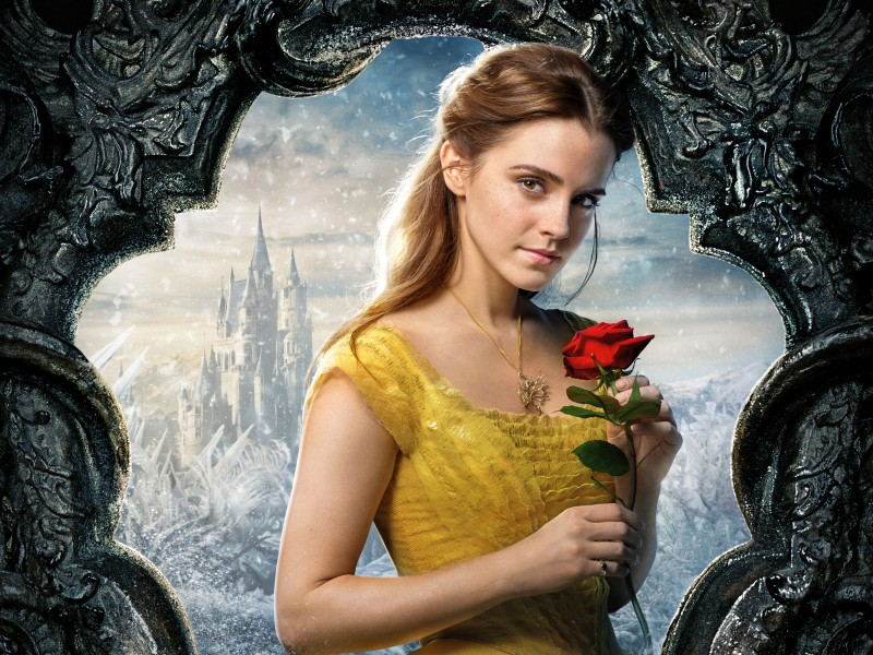 Belle Beauty and the Beast Emma Watson 5K