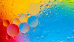 Colorful Bubbles 4K