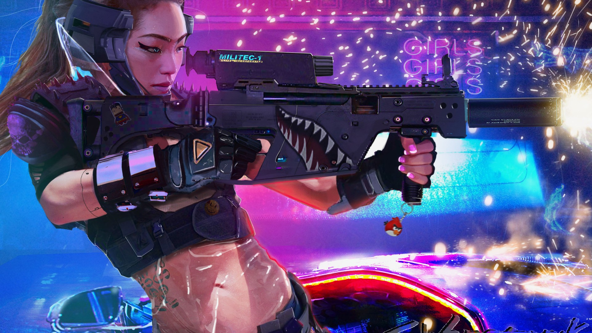 Cyberpunk 2077 1920x1080 1080p Wallpaper The Hot Desktop Wallpapers And Backgrounds For Your Pc And Mobile