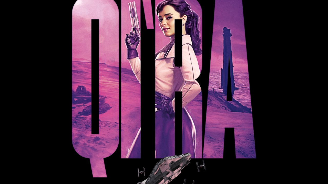 Emilia Clarke as Qira Solo A Star Wars Story 4K 8K