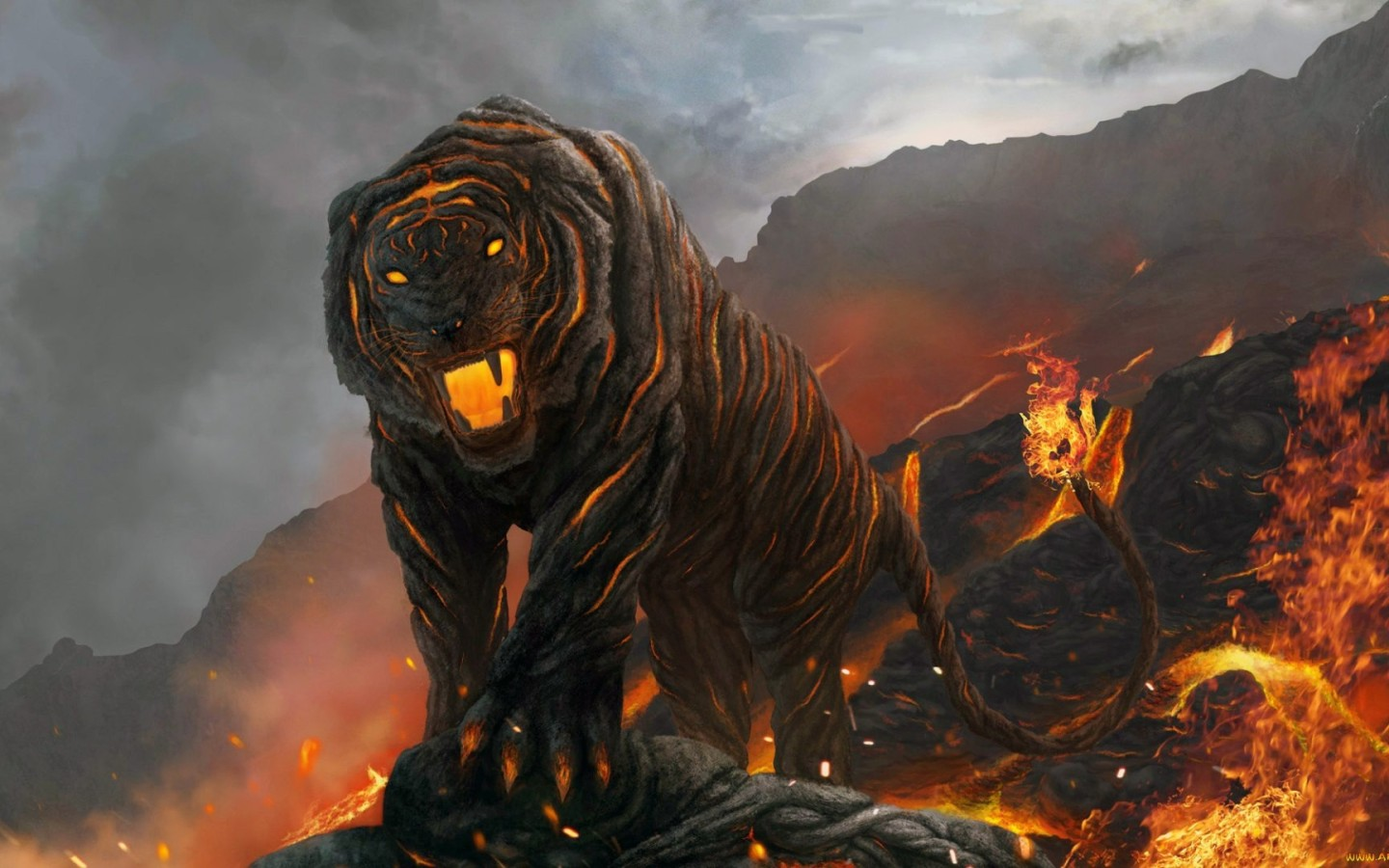 Flaming Tiger
