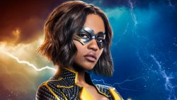 Jennifer Pierce in Black Lightning Wallpaper