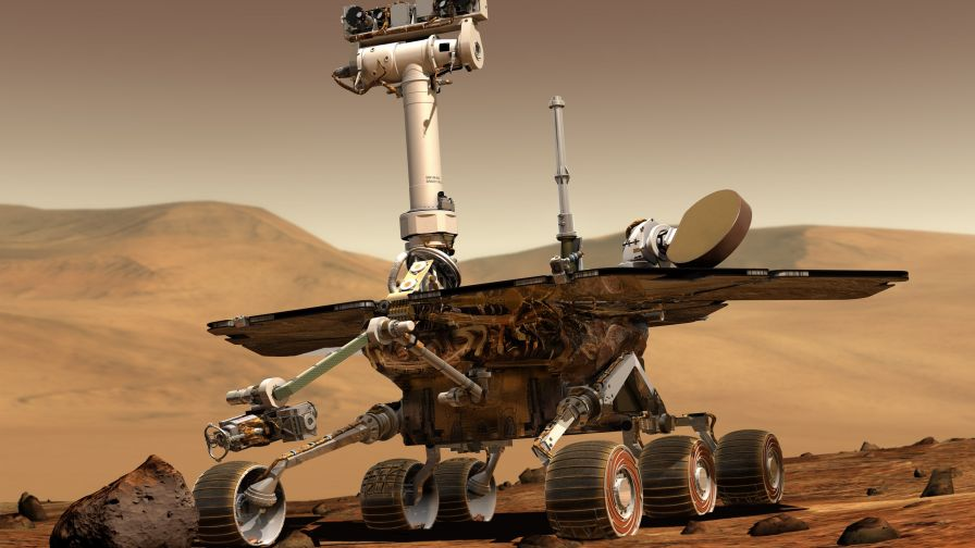 Mars Rover HD Wallpaper