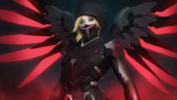 Mercy Overwatch Blackwatch 5k