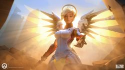 Mercy Overwatch HD Wallpaper