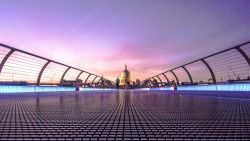 Millennium Bridge London United Kingdom 4K Wallpaper