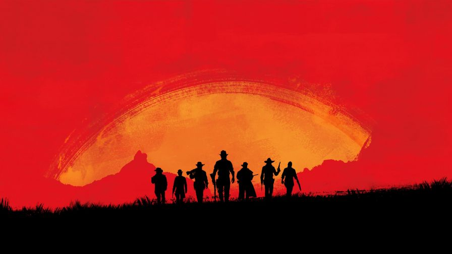 Red Dead Redemption Game HD Wallpaper
