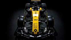 Renault RS 17 2017 Formula 1 Car