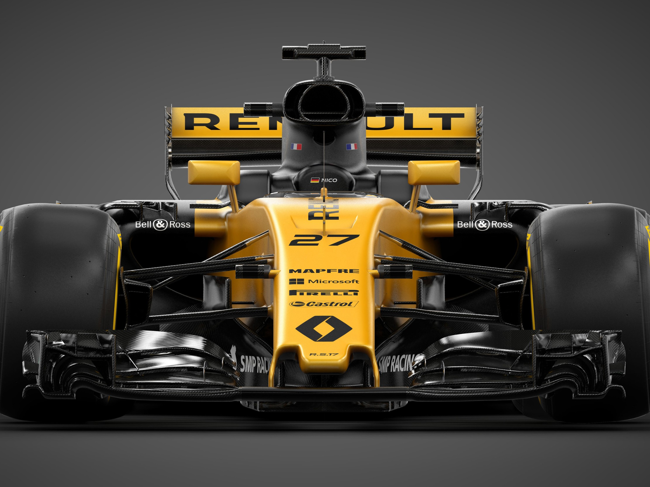 Renault RS17 Formula One Car 4K