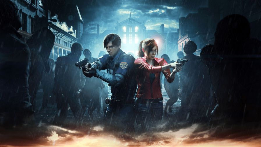 Resident Evil 2 2019 Game 4K Wallpaper
