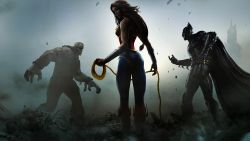 Solomon Grundy Wonder Woman And Batman In Injustice Gods Among Us