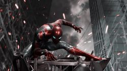 Spiderman Iron Suit PS4