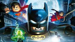The Lego Batman Superman And Robin