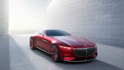 Vision Mercedes Maybach 6 4K 8K