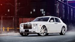 White Rolls Royce