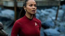 Zoe Saldana Uhura Star Trek Beyond HD Wallpaper